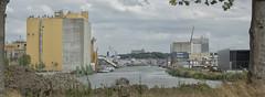 Theodorushaven (Mark A.H.) Tags: theodorushaven harbour port haven water kader container crane kraan schip vessel netherlands nederland pano panorama tree boom landschap boz harbor landscape industry