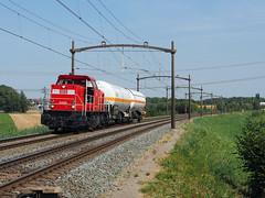 DBC 6466 (jvr440) Tags: trein train spoorwegen railroad railways dordrecht dbc db cargo 6400