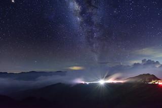 Milky way, Mountain Hehuan 合歡山銀河