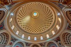 The Basilica of the Assumption of Our Lady (Emu Alim) Tags: basilica malta mosta rotunda dome neoclassicalpantheon church giorgiogrognet sony a7r3