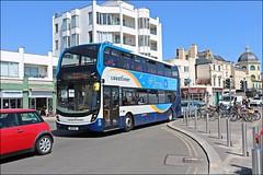 Stagecoach SN18KNJ 10945 (welshpete2007) Tags: stagecoach adl e40d mmc sn18knj 10945