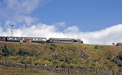 60s steam 11-08-68  Class 45 at Ribblehead Viaduct. (dubdee) Tags: ribbleheadviaduct 15guineaspecial 1t57 class45
