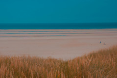 On a Clear Day -How far can you see ? (Clive Varley) Tags: stannesbeach lightroom44 raw artphotography