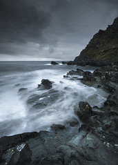 Tempest (www.neilburnell.com) Tags: sea seascape mood moody ocean devon prawle colour storm stormy rocks landscape