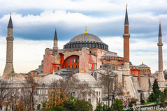 Hagia Sophia (Mohamed Haykal) Tags: nikon d2x 170550 mm f28 mohamed haykal istanbul turkey mosque cathedral museum hagia sophia sultanahmat sultan ahmed district culture