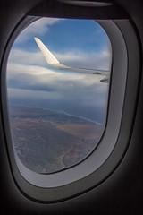 Seno Otway (Diego_Valdivia) Tags: patagonia magallanes puntaarenas seno otway chile travel viaje nube clouds ala wing fotografíaaérea plane avión ventana window cielo sky paisaje landscape canon eos 60d