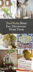 DIY Home Decor Ideas: Drool Worthy Decor : Fall Decorating Home Tours • Join TBD as we tour some of ... (Great Mag) Tags: