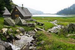 Prokoško lake, Bosnia and Herzegovina (HimzoIsić) Tags: landscape creek stream lake water nature outdoor house mountain mountainside mountaineering grassland grass plant stone forest hill countryside rural ngc