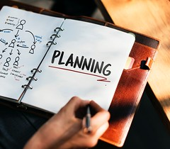 Planning - Credit to https://www.semtrio.com/ (Semtrio) Tags: achievement adult book business café chart closeup composition document education hand indoors information man marketing money note notebook office paper pen people plan planning sign success text woman working write writing
