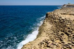 DSCF7374 (chalkie) Tags: gozo malta marsalforn saltpans salt seasalt