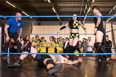 K.O. (Jeffrey De Keyser) Tags: gent belgium ghent streetphotography wrestling indoor fight sports people fl5