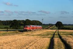 Rieseby (Nils Wieske) Tags: schleswigholstein angeln db regio bahn eisenbahn zug züge train railway railroad baureihe 218 v160