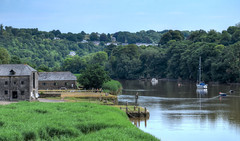 Cotehele Quay, River Tamar, Cornwall (Baz Richardson (away until early October)) Tags: cornwall rivertamar cotehelequay nationaltrust