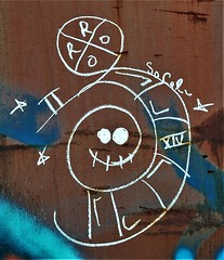 Unknown Moniker (rabidscottsman) Tags: scotthendersonphotography graffiti moniker railroadgraffiti railroadmoniker train rr paint create creativity mn minnesota northfieldminnesota ricecountyminnesota nikon nikond7100 d7100 nikkor nikkor70200f28vrii romannumerals design socal