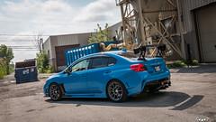 IMG_2287 (PedoJim) Tags: subaru wrx sti varis blue ivy nextmod turbo ej25 wing racecar lachute quebec montreal brembro bakemono track car