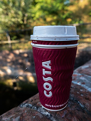 Costa Coffee (fstop186) Tags: costa coffee cup litter macro rubbish recycling abandoned rainforest paper cardboard