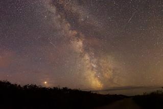 The Milky Way & Mars