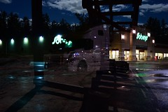 untitles (MiguelYetman) Tags: doubleexposure nightphotography night neon neonsigns neonlights overlay image d750 nikon crankyobrightness miguel yetman winnipeg manitoba crawling