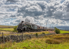50th Anniversary of the end of Mainline steam on British Railways 11-8-2018 (KS Railway Gallery) Tags: 50th anniversary end mainline steam a4 salterwath
