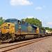 CSX 732 Leads WB Military Equipment Edwardsville, KS 8-11-18