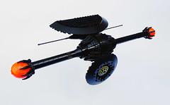Nyx GNYMAD (secutor class destroyer) (Shannon Ocean) Tags: spaceship concept alien black design space