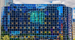 Damier (L'Abominable Homme de Rires) Tags: damier paris ladéfense city architecture reflet reflection square urban immeuble building canon5d 5dmkiii sigma 24105mmf4 dxo photolab lightroom