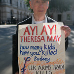 Theresa May - how many children have you killed today ? thumbnail