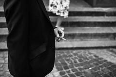 Vices 294.365 (ewitsoe) Tags: canoneos6dii city europe ewitsoe spring warszawa erikwitsoe poland urban warsaw smoke smoking cigarette mono monochrome bnw blackandwhite sereis 365 project portrait warsawpeople
