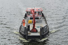 Jack D (1) @ KGV Dock 14-08-18 (AJBC_1) Tags: marinesupportthamesmstltd bargeprovident london thamescraftdrydockingservicesltd ship boat vessel dlrblog england unitedkingdom uk ©ajc northwoolwich eastlondon newham workboat multicat marineengineering royaldocks londonsroyaldocks londonboroughofnewham docklands nikond3200 kgvdock kinggeorgevdock ajbc1 jackd multipurposevessel londoncityairportdevelopmentproject cadp hopperbarge gallionspoint gb greatbritain