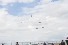 Crowd Favorite (Fredmiller13) Tags: vectran dayton air show 2018 heritage p51 kamikaze veteran force blueangels usnavy zero