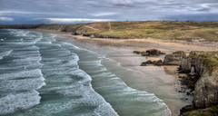 Perranporth, North Cornwall (Baz Richardson) Tags: cornwall perranporth perranbay sandybeaches coast seastacks cliffs