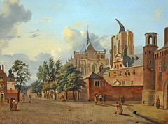 Cologne Cathedral construction 1684. Manchester City Art Gallery (skaradogan) Tags: cityartgallerymanchester museums museum galleries gallery sircharlesbarry architects architecture lancashire manchester cologne germany koln kolnerdom churches cathedrals deutschland