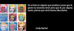 Andy Warhol (pryflores) Tags: artistas frases