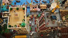 Ninjago Diorama by Felix Mezei -  rooftops (Brick Samurai) Tags: lego ninjago diorama ninjagomovie