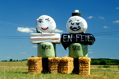 Fête agricole (jegauberti) Tags: paille foin meules agricole agriculture