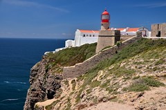 Cabo de São Vicente (tonyfernandezz) Tags: portugal cliff ocean coast lighthouse algarve