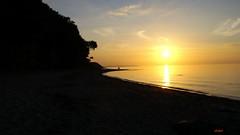 SUNSET - COLORS OF THE SUN 1 (Fimeli) Tags: nature sunset sun sundown abendlandschaft abend strand beach sky silhouettes landscape