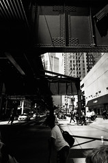 Summer in the City (johnlishamer.com) Tags: 2018 35mm ilfordfp4125 lishamer nikonf3 slr chicagoil family film johnlishamercom rodinal summer