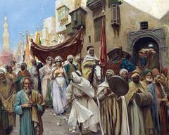 The Procession by Fabio Fabbi (skaradogan) Tags: orientalism orientalisme painting algeria algerie north africa maghreb peinture mariage maroc egypte fabiio fabbi