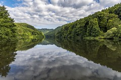 *The Saar @ morning silence* (Albert Wirtz @ Landscape and Nature Photography) Tags: river tree sky landscape paesaggi passages campagne campagna campo reflection spiegelung albertwirtz natur nature saar saarland dreisbach deutschland germany allemagne keuchingen forest silence stille ruhe nikon d810 aussichtsturm lookout saarschleife saarloop wahrzeichen landmark water stream albertwirtzlandschaftsundnaturfotografie albertwirtzphotography albertwirtzlandscapeandnaturephotography clouds wolken mettlachorschholz mettlach cloef traumschleifecloefpfad thewanderlust wandern hiking cloeftrail