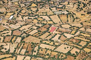 Farm Near Zafara, Spain