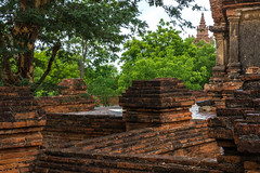 600 Million Bricks in Dha Temple (shapeshift) Tags: myanmar burma bagan pagan oldbagan rural temple dhammayazika brick ancient lostcivilization pagoda pagodas buddhist shapeshiftnet shapeshift davidpham davidphamsf travel asia southeastasia fz200 architecture documentary