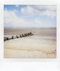Beach (lynnmariehall) Tags: instax square instantphoto fuji seaside beach