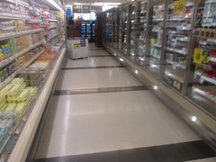 Floor by Frozen Foods (Random Retail) Tags: kroger krogersupermarket supermarket store 2017 wellston oh