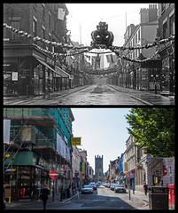 Bold Street, Liverpool (Tetramesh) Tags: tetramesh liverpool merseyside england britain greatbritain gb unitedkingdom uk localhistory nowandthen thenandnow pastandpresent oldliverpool lostliverpool presentandpast liverpoolpastandpresent liverpoolnowandthen liverpoolthenandnow liverpoolpast socialhistory uklocalhistory liverpoollocalhistory boldstreet l1