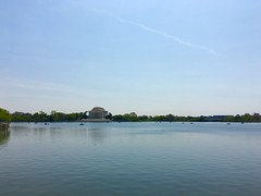 Distant Jefferson Memorial (A_Renee_88) Tags: washington dc tourism jefferson memorial paddle boats potomac river monument architecture beautiful awesome inspiring history historic