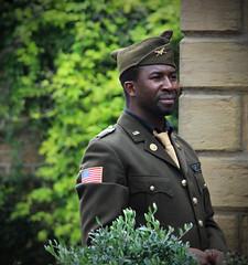An American Soldier  in Lancashire (big_jeff_leo) Tags: reenactment army usa us ww2 secondworldwar war military 1940s