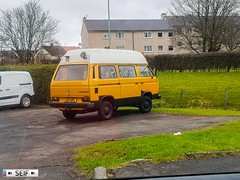 Volkswagen Transporter T3 East kilbride Scotland 2018 (seifracing) Tags: eastkilbride scotland unitedkingdom gb volkswagen transporter t3 east kilbride 2018 seifracing spotting emergency services scottish europe rescue recovery transport traffic road seif security car voiture vehicles vehicle