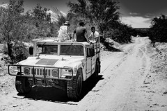 Mexican Military near the Boquillas border crossing