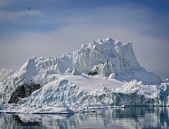 Iceberg (MrBlueSky*) Tags: greenland ilulissat ilulissaticefjord diskobay arcticcirlce iceberg nature outdoor sea arctic canon canonpowershot landscape scenery ice snow cold ngc